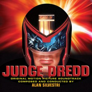Judge Dredd (Soundtrack CD) [Expanded] (Alan Silvestri) [2CD] [cover design - alternative]