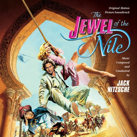 The Jewel of the Nile (Soundtrack CD) composed by Jack Nitzsche