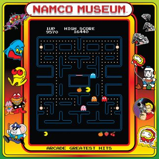 Namco Museum - Arcade Greatest Hits [Vinyl] (cover)