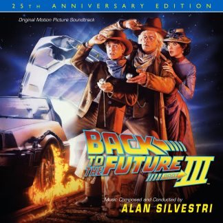 Back To The Future Part III - The Deluxe Edition (cover art)