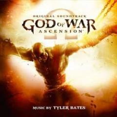 God of War Ascension Soundtrack CD (Tyler Bates) [cover art]