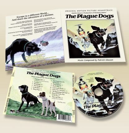 The Plague Dogs Soundtrack CD (Patrick Gleeson)