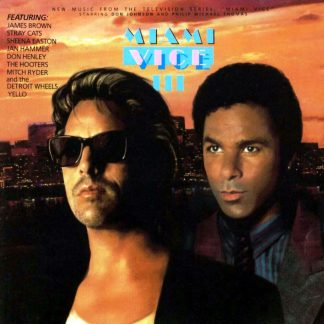 Miami Vice III Soundtrack CD (front cover)