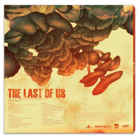 The Last Of Us Original Score – Volume One [2xLP] [back cover]
