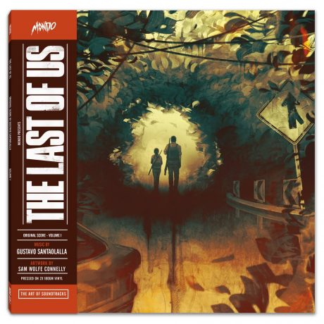 The Last Of Us Original Score – Volume One [2xLP] [cover and label]