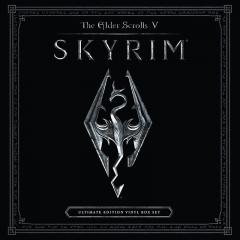 The Elder Scrolls V - Skyrim Soundtrack Ultimate Vinyl Edition [4xLP] (cover artwork)