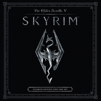 The Elder Scrolls V - Skyrim Soundtrack Ultimate Vinyl Edition [4xLP] (cover artwork)