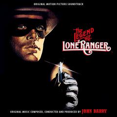 The Legend of the Lone Ranger Soundtrack [CD] (cover artwork)