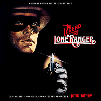 The Legend of the Lone Ranger Soundtrack [CD] (cover artwork)