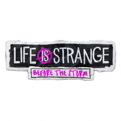 The logo artwork of video game Life is Strange: Before the Storm