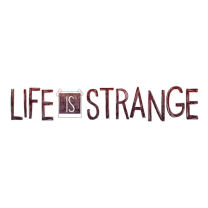 The logo of video game Life is Strange