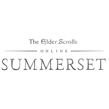 The Elder Scrolls Online - Summerset (video game logo)