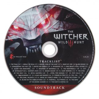 The Witcher 3: Wild Hunt Soundtrack [CD] (disc label)
