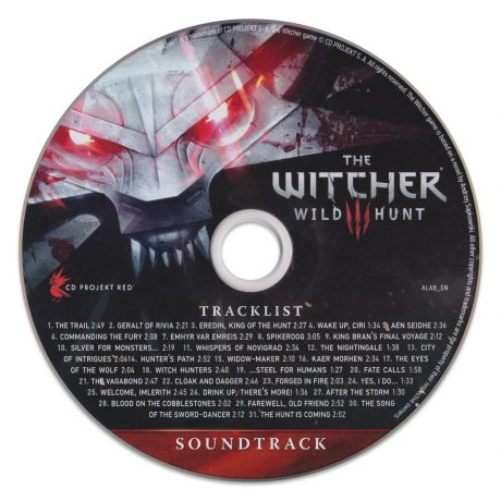 The Witcher 3: Wild Hunt Soundtrack [CD]