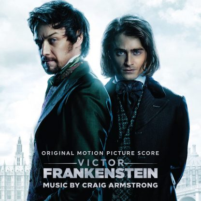 The cover artwork for: Victor Frankenstein Soundtrack Score (by Craig Armstrong)