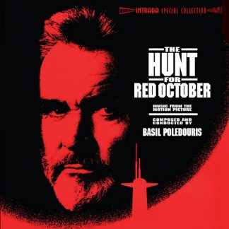 The Hunt for Red October Expanded Soundtrack CD Album Cover Artwork