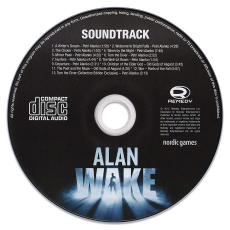 Alan Wake (Soundtrack CD)