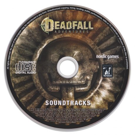 Deadfall Adventures (Soundtrack) [stand-alone CD]