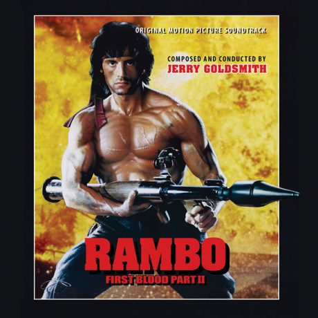 Rambo First Blood Part II (Soundtrack) [2CD] (alternate cover)