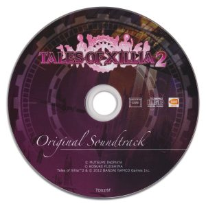 Tales of Xillia 2 Original Soundtrack (stand-alone CD)