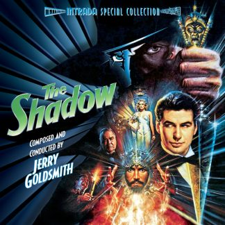 The Shadow Expanded Soundtrack (front cover)