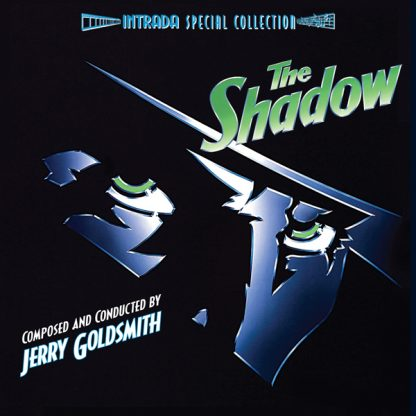 The Shadow Expanded Soundtrack (alternate front cover)