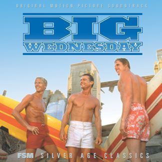 The cover artwork for the official Big Wednesday soundtrack CD