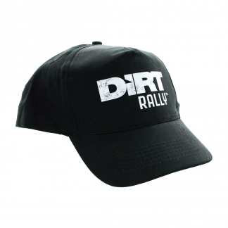 An official Dirt Rally™ Baseball Cap (black, one size fits all)