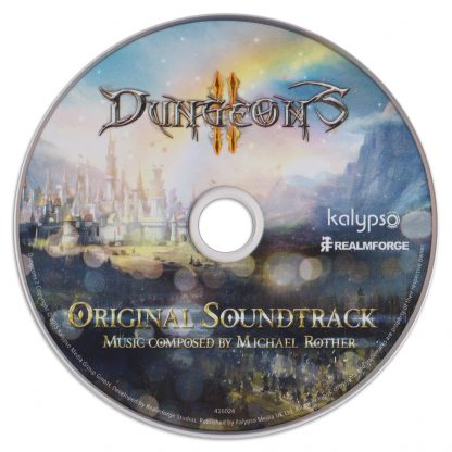 Dungeons II (Soundtrack) [CD] (stand-alone disc, as issued)