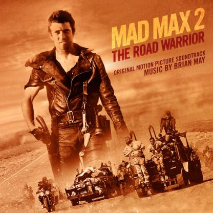 Mad Max 2 - The Road Warrior (Soundtrack cover artwork/design) SILLP1559