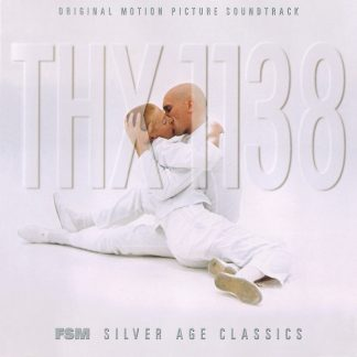 The cover artwork for the official THX 1138 soundtrack CD