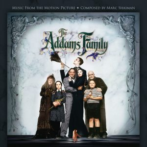 The Addams Family (Soundtrack) [CD] (cover artwork)