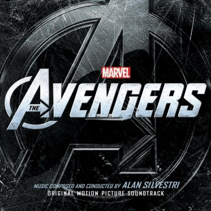The Avengers soundtrack score cover artwork