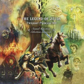 The Legend of Zelda Twilight Princess HD Sound Selection (Soundtrack) [CD] (cover art)
