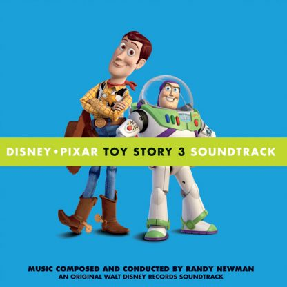 Toy Story 3 (Soundtrack) [CD] cover artwork/design