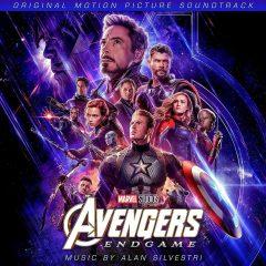 Cover artwork from the Avengers: Endgame soundtrack CD album
