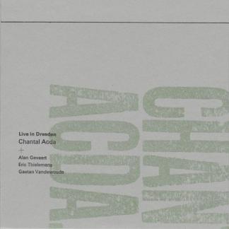 Chantal Acda - Live in Dresden (cover artwork)