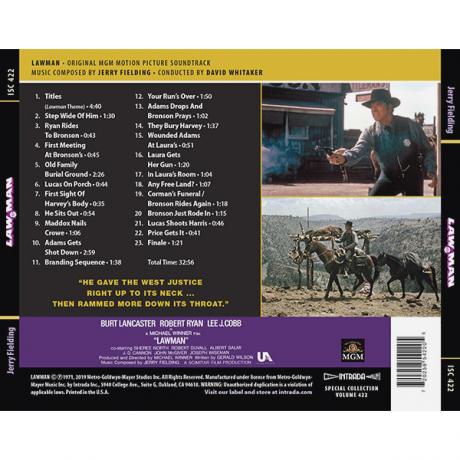 Lawman (Soundtrack) [CD] [back] 720258542205