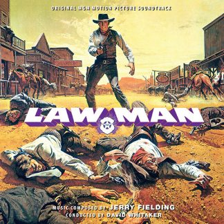 Cover artwork for the Lawman soundtrack CD