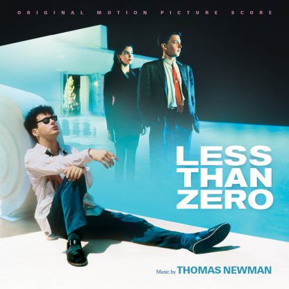 Cover artwork from the Less Than Zero soundtrack score release