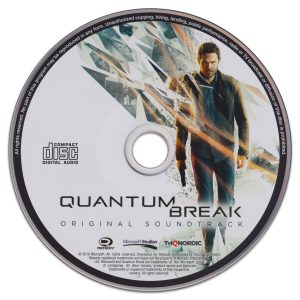 Quantum Break Original Soundtrack CD (stand-alone disc, as issued)