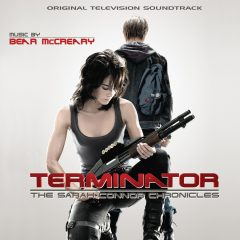 The Terminator: The Sarah Connor Chronicles Soundtrack (cover artwork)