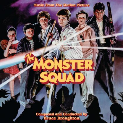 cover artwork for The Monster Squad soundtrack album