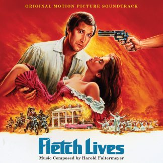 The soundtrack cover artwork for Fletch Lives (release LLLCD1498)
