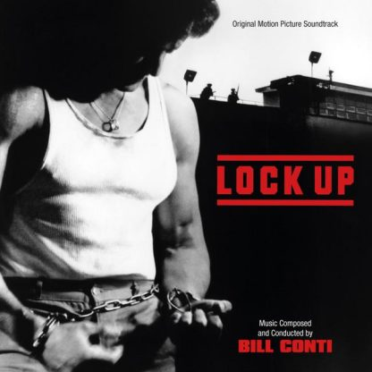 Cover artwork for the Lock Up soundtrack CD (a limited edition)