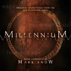 Cover artwork for the Mark Snow soundtrack album Millennium (volume 1)