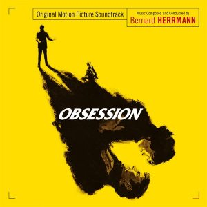 Cover artwork for the Bernard Herrmann soundtrack score Obsession (single disc edition)