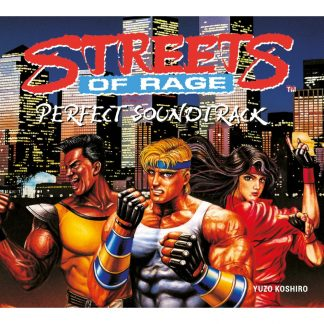 Cover artwork from the Digipak packaging sleeve for Streets of Rage : Perfect Soundtrack (CD) WAYO-009