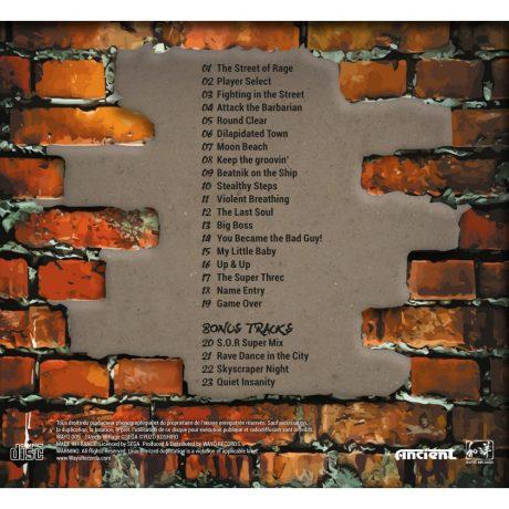 Streets Of Rage – Perfect Soundtrack (CD) WAYO-009 [back]