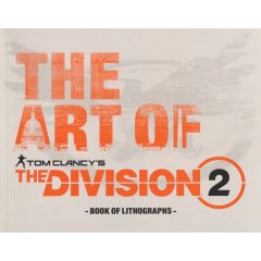 The Art of Tom Clancy's The Division 2 - Book of Lithographs (cover artwork)
